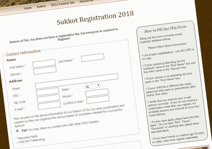 Registration Form Pic